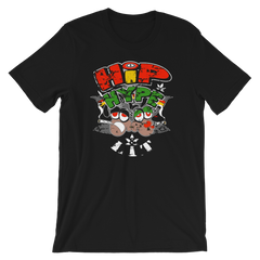 Hip, Hype & Lit Reggae BDL Crew-Neck T-Shirt For All