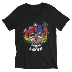 Miami Spread The Love Reggae V-Neck T-Shirt For Him