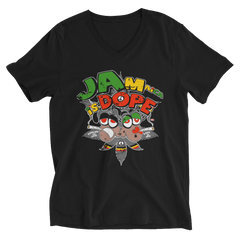Jamaica Is Dope V-Neck T-Shirt For Him