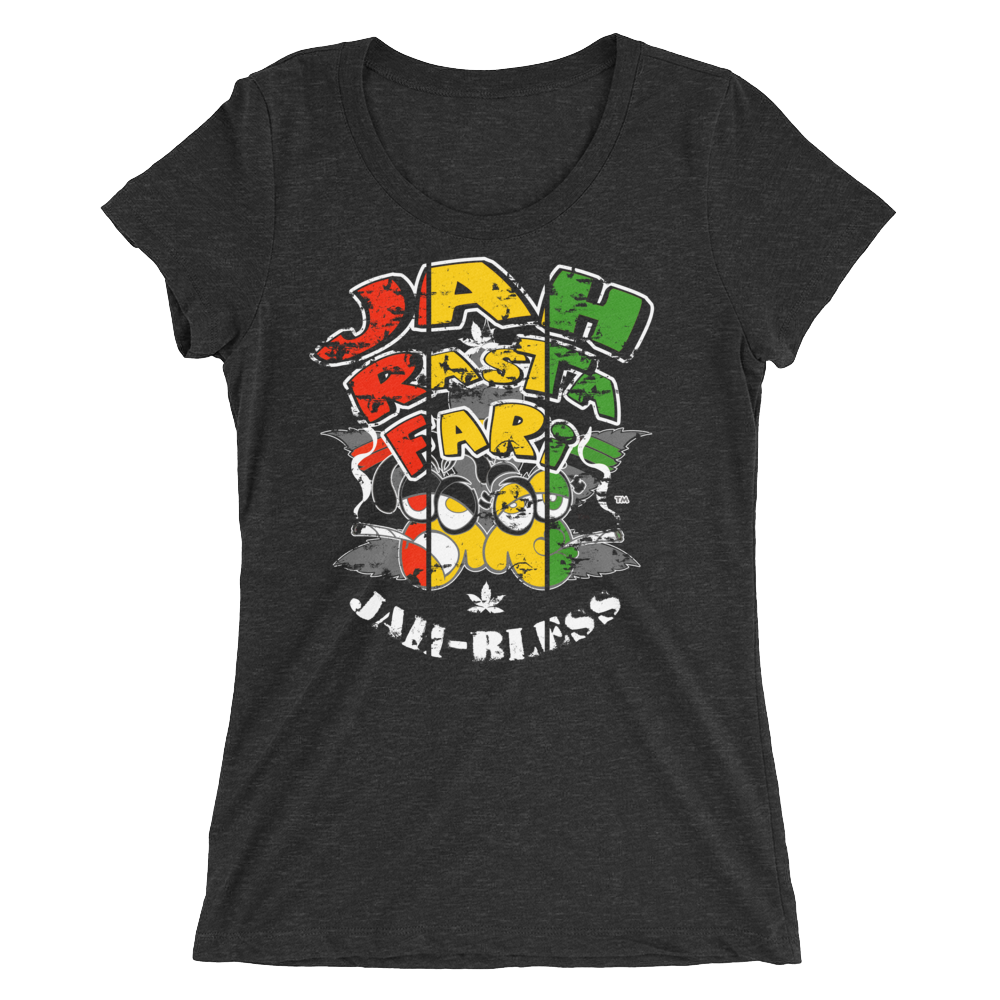 Jah Bless BDL Rasta T-Shirt For Her