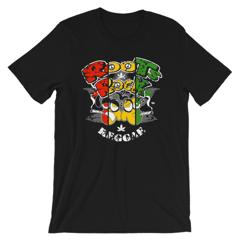 Roots, Rock & Reggae Rasta Crew-Neck T-Shirt For Him