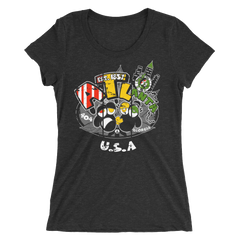Atlanta GA Rasta Bout Dat Life T-Shirt For Her