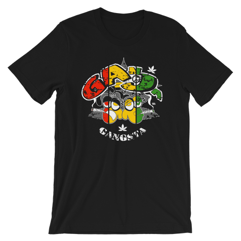 Ganja Gangsta Rasta Bout Dat Life Crew-Neck T-Shirt For Him