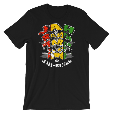 Jah Bless Rasta Bout Dat Life Crew-Neck T-Shirt For Him