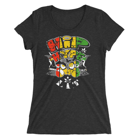 Hip, Hype & Lit BDL Rasta T-Shirt For Her