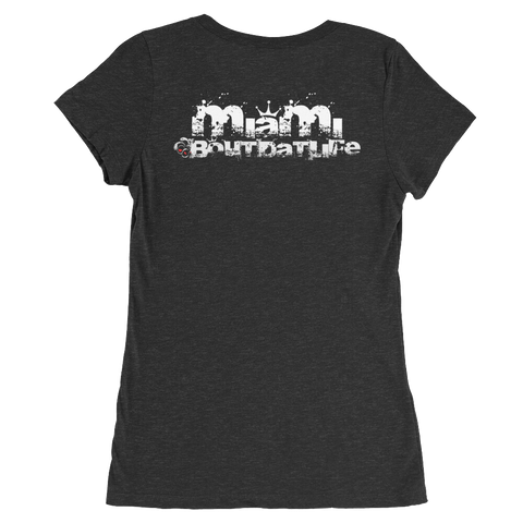 Miami Roots, Rock & Reggae Rasta T-Shirt For Her