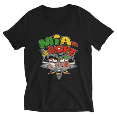 Miami is DOPE Reggae V-Neck T-Shirt For Him