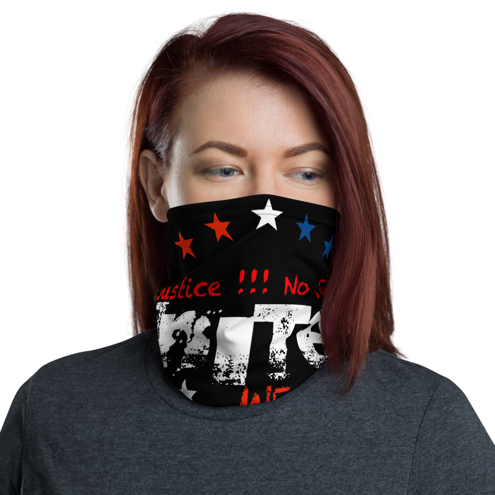 UNITED WE STAND JUST 6 FEET APART Neck Gaiter for Her