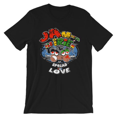 Jamaica Is iRie Reggae Crew-Neck T-Shirt For All