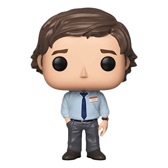 POP TV THE OFFICE JIM HALPERT VINYL FIGURE