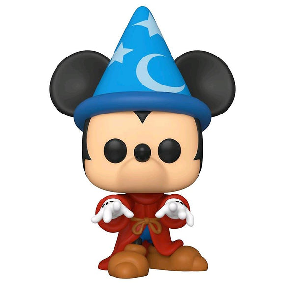 POP DISNEY SORCERER MICKEY 10IN VINYL FIGURE