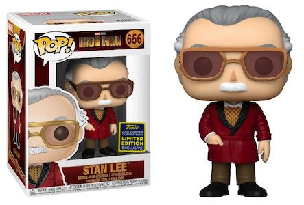 POP ICONS STAN LEE SDCC IRON MAN VINYL FIGURE