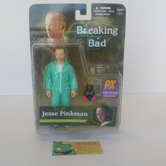 Breaking Bad - Jesse Pinkman Px Exclusive Hazmat Suit Figure