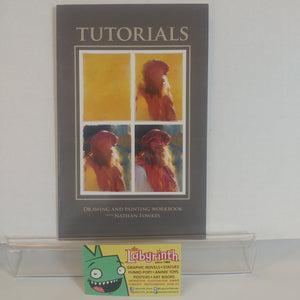 Drawing & Painting Nathan Fowkes SIGNED Instructional book