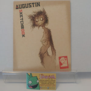 Comix Buro Augustin Sketch Art Book SIGNED Sketchbook
