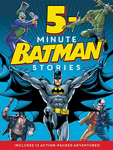 BATMAN CLASSIC 5 MINUTE BATMAN STORIES HC