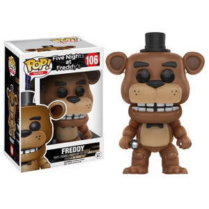 POP FIVE NIGHTS AT FREDDY'S FREDDY VINYL FIGURE