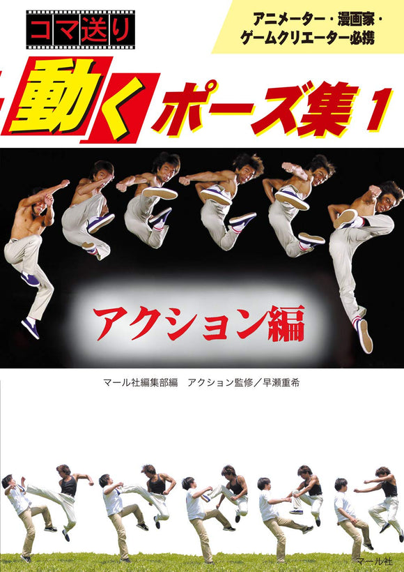 Fighing Pose Photo Book