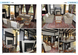 Layout Locations: House Interior Exterior Reference Photo Book