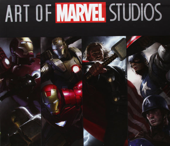 Art of Marvel Studios Softcover - 4 book set