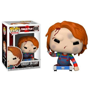 POP HORROR CHUCKY CHILDS PLAY 2 W/CART  VINYL FIGURE