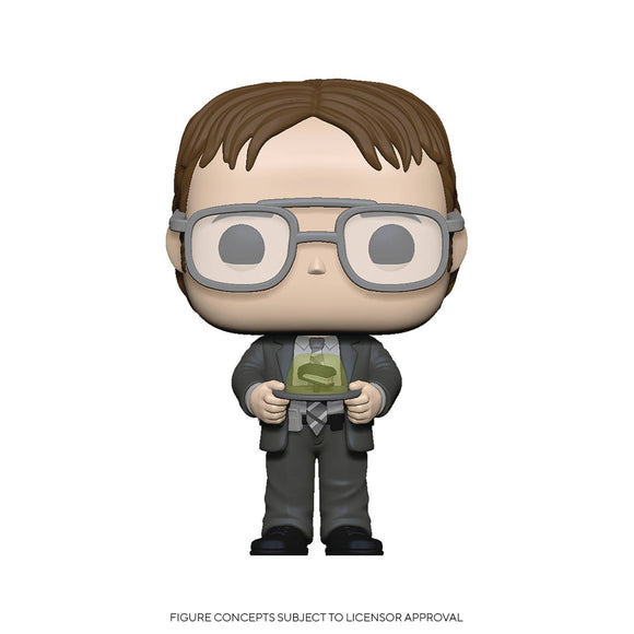 COMING SOON - POP TV OFFICE S2 DWIGHT W JELLO STAPLER VINYL FIGURE