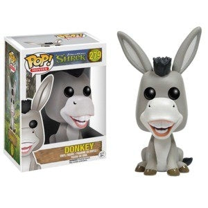POP SHREK DONKEY VINYL FIGURE