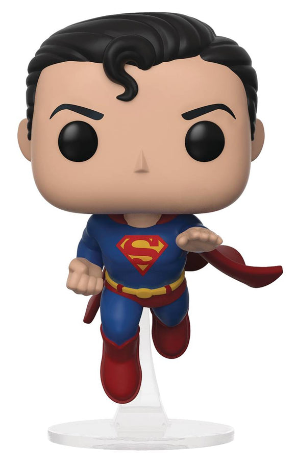 POP DC HEROES SUPERMAN 80TH FLYING SELECT EXCLUSIVE VINYL FIGURE