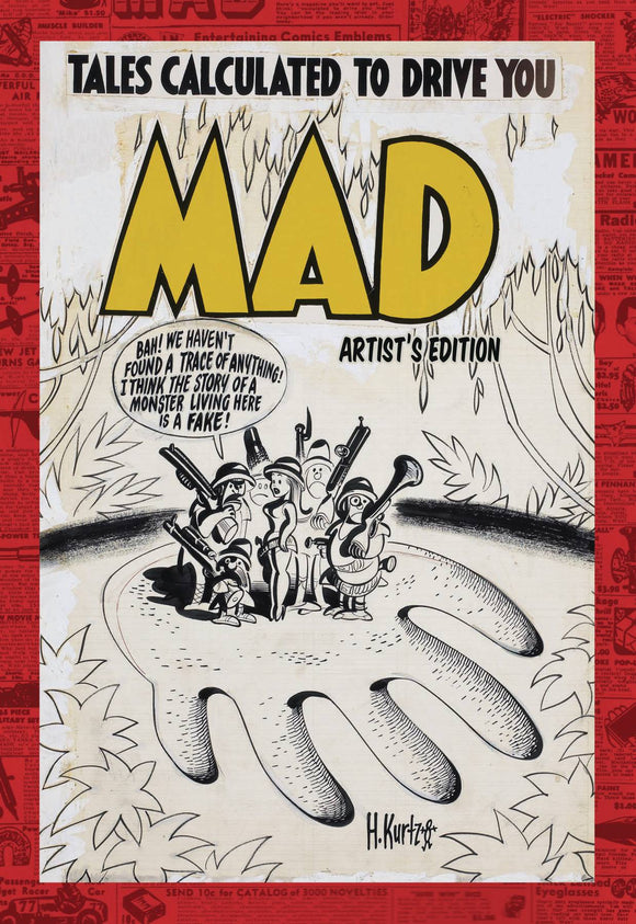 MAD ARTIST ED HC - Wally Wood, Jack Davis, Harvey Kurtzman