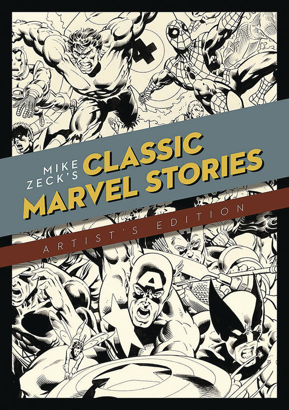 MIKE ZECK CLASSIC MARVEL STORIES ARTIST ED HC