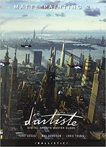 d'artiste Matte Painting 2: Digital Artists Master Class Paperback with slipcase
