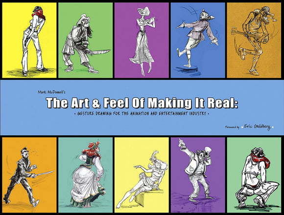 Mark McDonnell's the Art & Feel of Making It Real - SIGNED