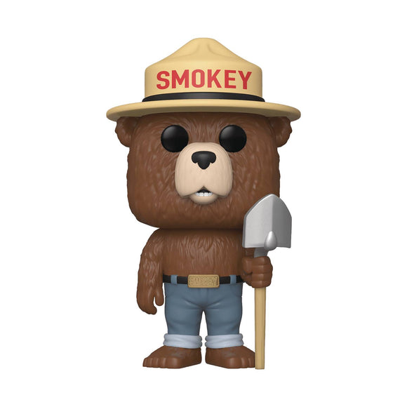FUNKO POP AD ICONS SMOKEY THE BEAR VIN FIGURE
