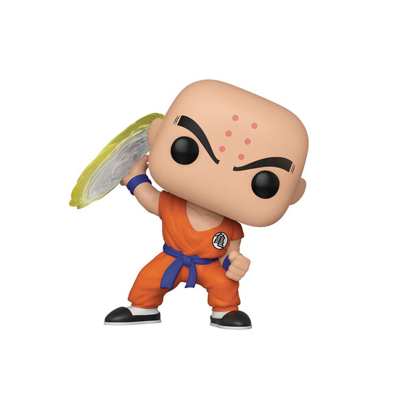 POP ANIMATION DBZ KRILLIN DESTRUCTO DISC VINYL FIGURE