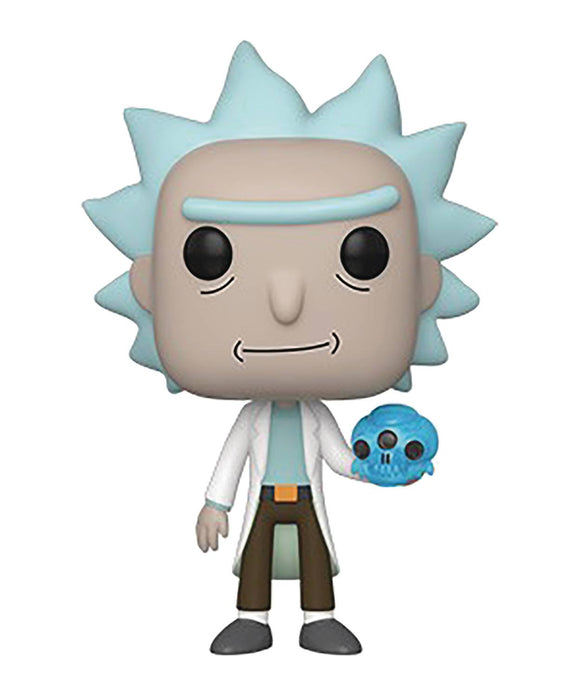 POP ANIMATION RICK & MORTY S2 RICK CRYSTAL SKULL VINYL FIGURE
