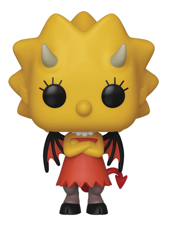 POP ANIMATION SIMPSONS LISA AS DEVIL VINYL FIGURE