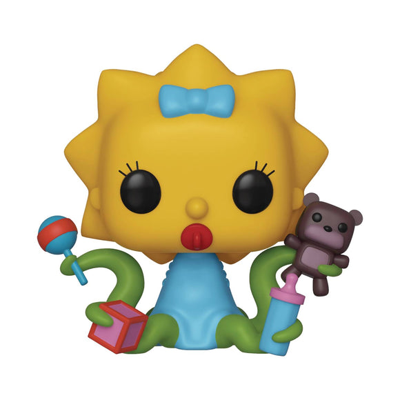 POP ANIMATION SIMPSONS MAGGIE ALIEN VINYL FIGURE