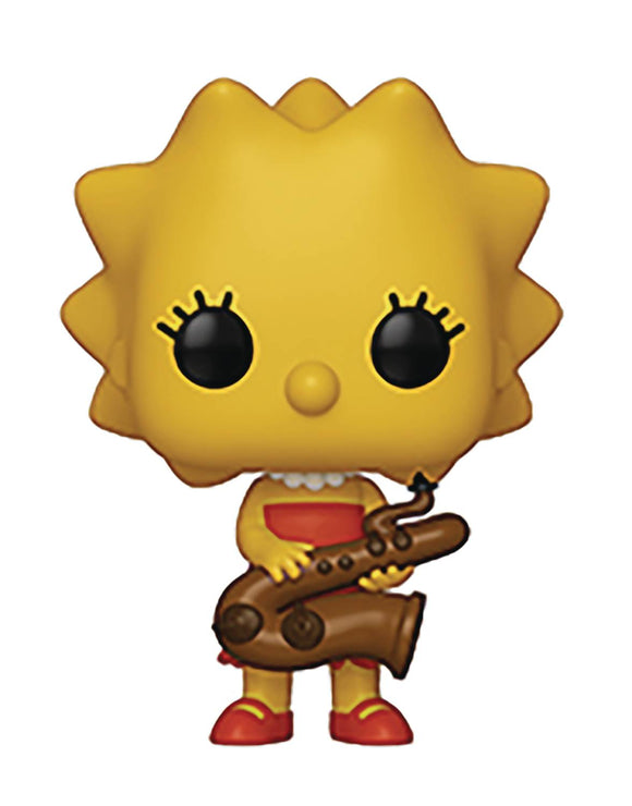 POP ANIMATION SIMPSONS S2 LISA SAXOPHONE VINYL FIGURE