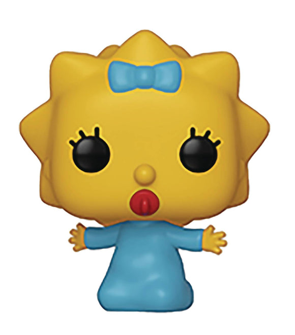 POP ANIMATION SIMPSONS S2 MAGGIE VINYL FIGURE