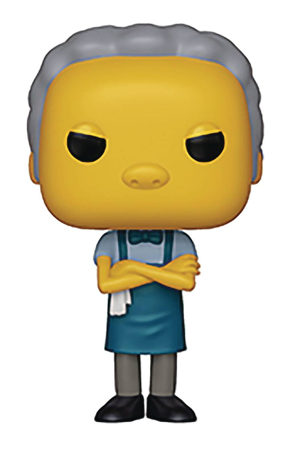 POP ANIMATION SIMPSONS S2 MOE VINYL FIGURE
