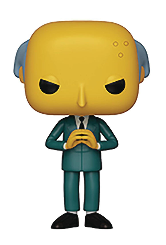 POP ANIMATION SIMPSONS S2 MR BURNS VINYL FIGURE
