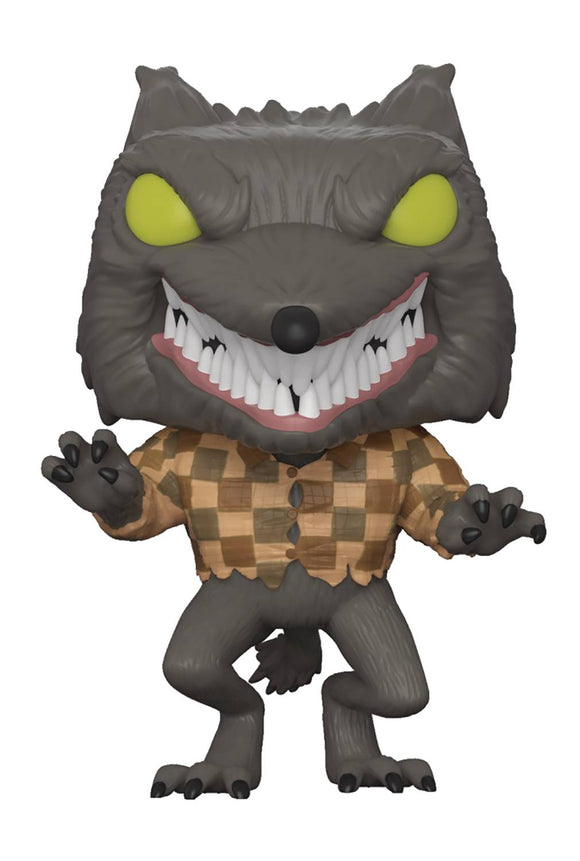 POP ANIMATION SPECIALTY SERIES DISNEY NBX WOLFMAN VINYL FIGURE