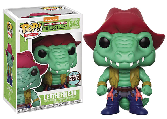 POP ANIMATION SPECIALTY SERIES TMNT LEATHERHEAD VINYL FIGURE