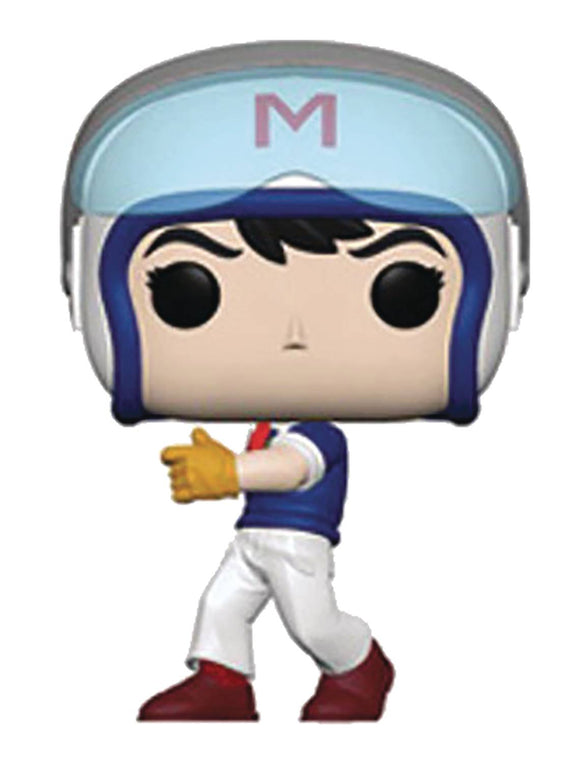 POP ANIMATION SPEED RACER HELMET VINYL FIGURE