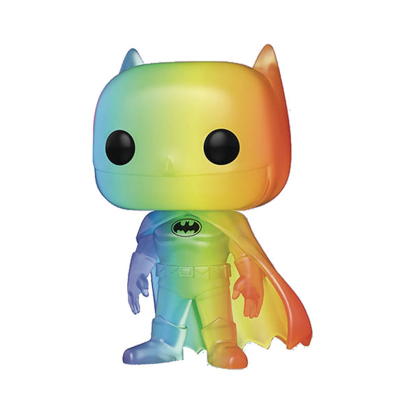 POP COMICS PRIDE 2020 DC HEROES BATMAN RAINBOW VIN FIGURE - QTY0