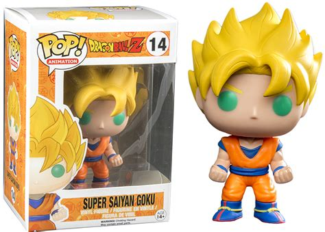 POP DRAGON BALL Z SUPER SAIYAN GOKU VINYL FIGURE