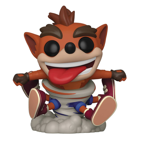 POP CRASH BANDICOOT S3 CRASH VINYL FIGURE