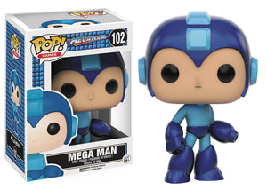 POP GAMES MEGAMAN MEGAMAN VINYL FIGURE