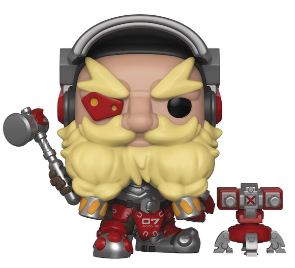 POP OVERWATCH S4 TORBJORN VINYL FIGURE