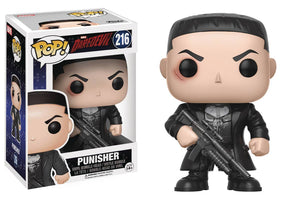 POP MARVEL DAREDEVIL TV PUNISHER VINYL FIGURE